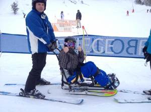 DSUK, France, Skiing, snow, disability, disability snow sport, la Plagne