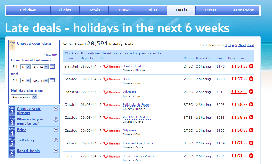 flight deals, holiday deals, travel ideas, travel feature, holiday, cheap holiday