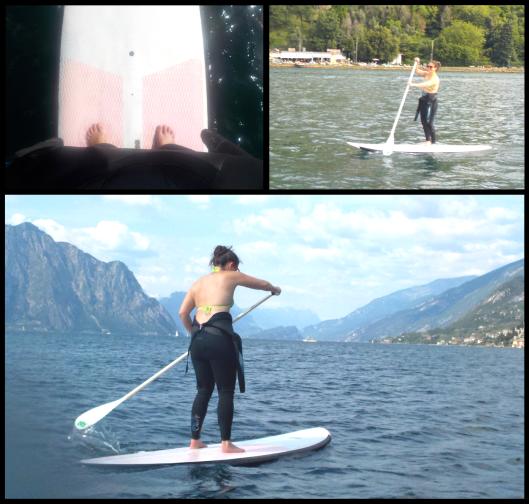 paddle board, sup, paddle boarding, italy, lake, lake garda, water sport, easy kite