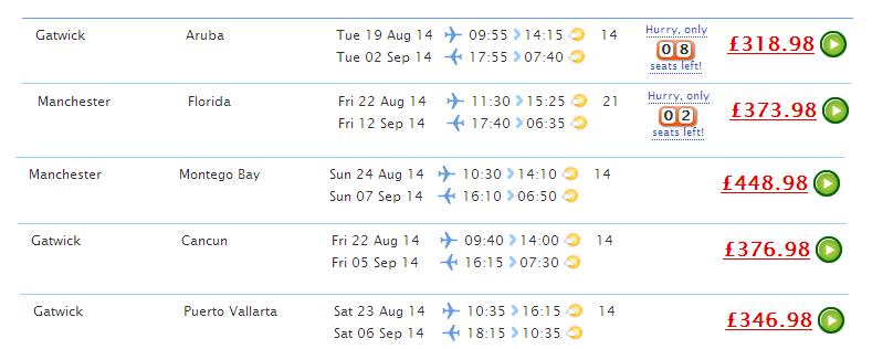 bank holiday, hliday, flights, thomson, cheap, deal