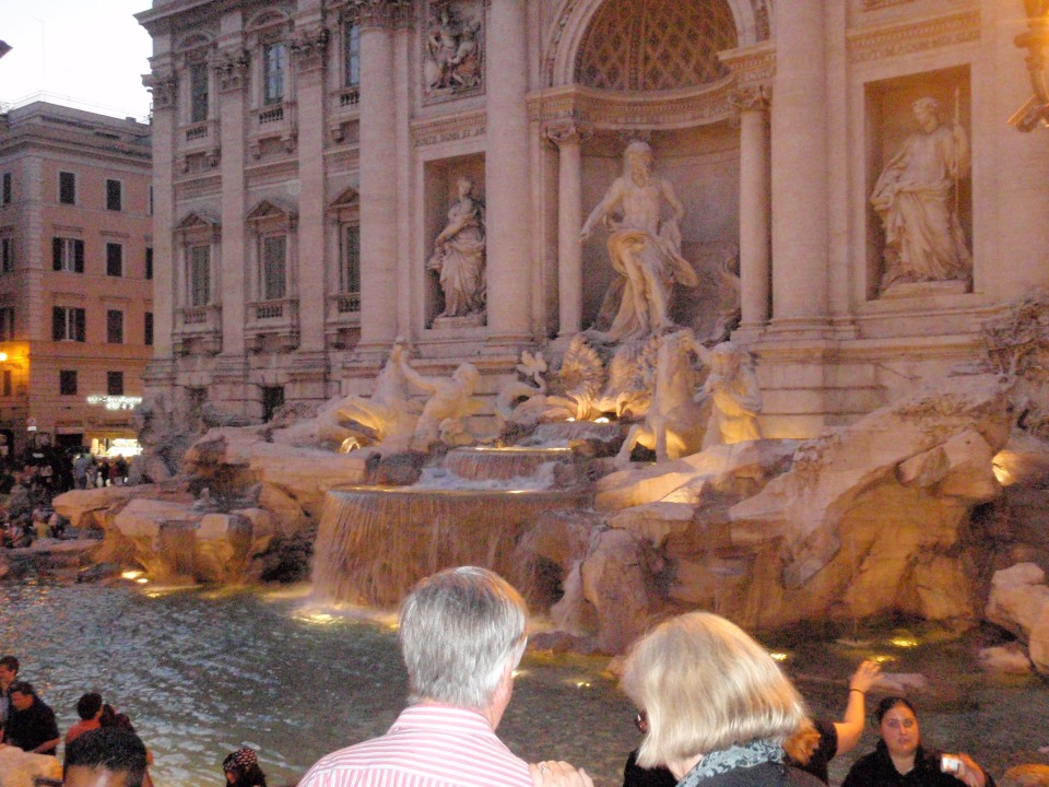 fountain, trevi, rome, italy, weekend, sight, sight-seeing