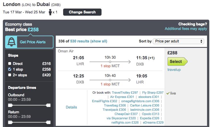 dubai cheap flights, cheap dubai deal, cheap dubai holiday, oman air