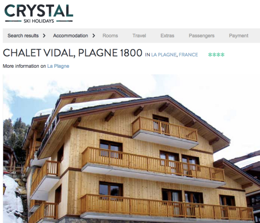 chalet holiday, la plagne, france, skiing, cheap ski holiday, march cheap ski week, cheap chalet deal march, crystal ski, crystal chalet