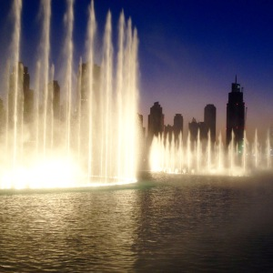 Dubai Fountains.