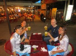 Dinner at Local Saigon BBQ Restaurant