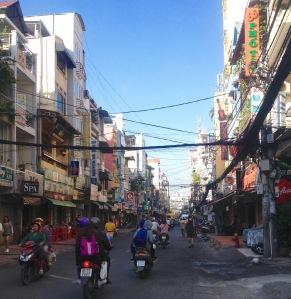 District One Saigon Vietnam