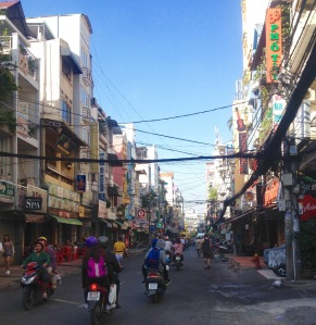 District One Saigon Vietnam